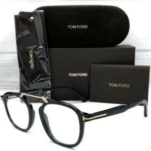 Tom Ford TF5495 001 Shiny Black 48mm Eyeglasses